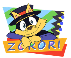 Zorori Retro #2 by MaudeDraws
