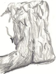Nude Back Sketch by musehick