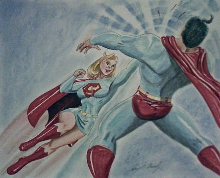 SUPERGIRL THE DESTROYER 618 by MajorO