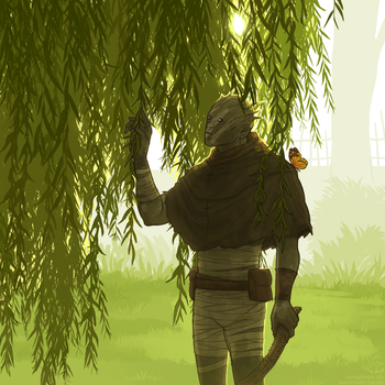 Willow Tree by vampiriism