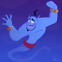Genie...you're free by TheCrazyOneOfTheGang