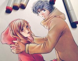 Ao Haru Ride: Futaba x Kou by Yinamon
