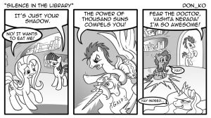 silence in the library by Don-ko
