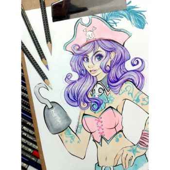 Pastel Pirate by whitelee