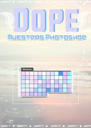 Dope - Muestras Photoshop by Waatt