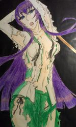 Saeko highschool of the dead drawing by Kimmy-Angel