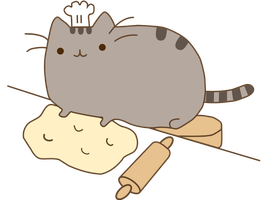 Pusheen by ilovebakso