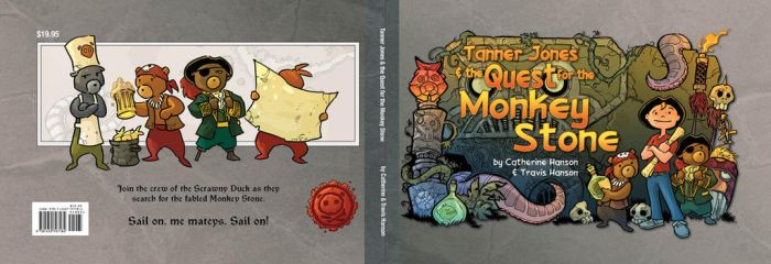 Tanner Jones and the Quest for the Monkey Stone by travisJhanson