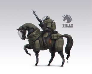 TACTICAL CAVALRY by Agavoides