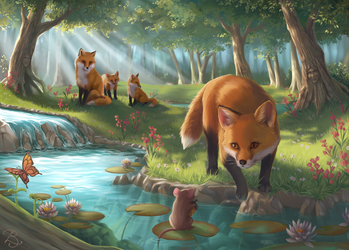 A Lovely Encounter by Blunell