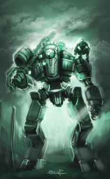 Stand by for Titanfall by BADCOMPZERO