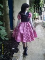 Alisoin in our new style dress by puncturegown