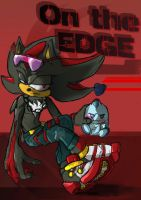 Magazine - Shadow the Edgehog - Textless by Deimonday