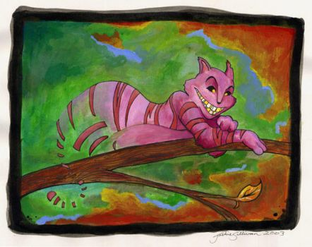Cheshire Cat by jackieocean
