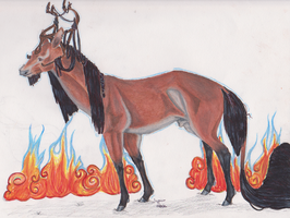 Crowley l Stag l Soldier [future general] by AgentDarkhorse