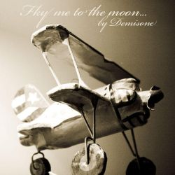 Fly me to the moon... by demisone