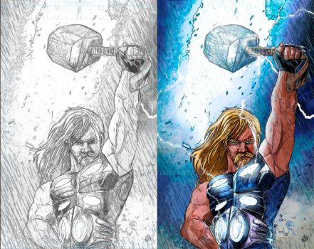 ULTIMATE THOR PROCESS. by orabich