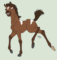 Adoptable Foal (CLOSED) by BluuBases