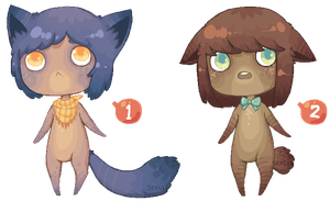 Pixel Anthros 2 - [CLOSED!] by Sergle