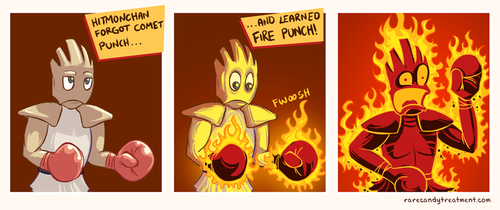 Great Gloves of Fire by BummerForShort