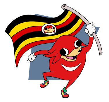 Ugandan Warrior by CosmicAscension