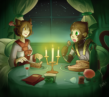 Dinner by GaelRice