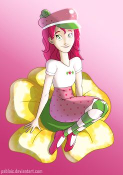 Strawberry Shortcake by Pabloic