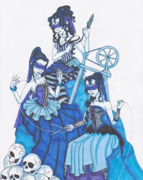 The Three Fates by KaeMcSpadden