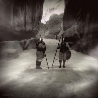 Nabataean Guards by lostknightkg