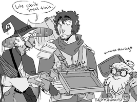 Taako Says Stealing Is Bad by TheMythArtist