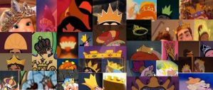 Disney Crowns in Movies by dramamasks22