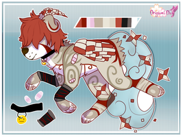 Origami Dog// 004 CLOSED by spriingpetal
