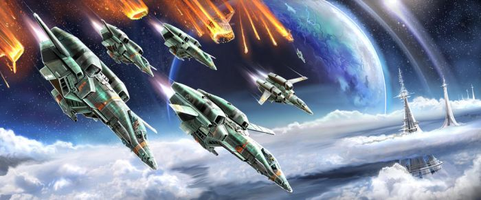 Atmospheric Insertion Fighter3a by pyraker