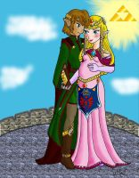 ...And Thus Began Hyrule's Royal Bloodline - Color by Mynhphrah