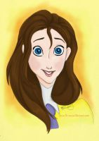 Portrait of a Lady: Jane Porter by Tella-in-SA