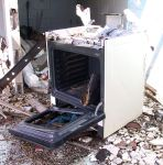 Abandoned Gas Station Oven 5 by Falln-Stock