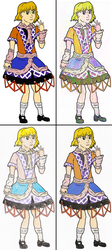 Parsee Mizuhashi - Four techniques by TheAntsaBoy94