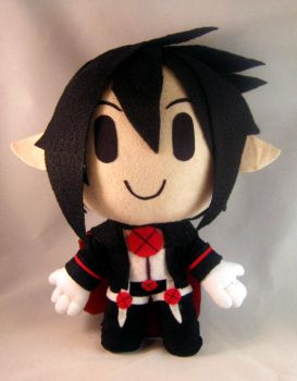 Disgaea 4: Valvatorez chibi plush by PlushMayhem