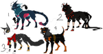 Mixed Canine Adopts by JBug12365Adopts