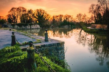 Stroll of winter evening - Bergues - France by Laurent-Dubus