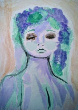 Water Color Woman by laylazer