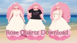 MMD/Steven Universe: Rose Quartz Download by MacaronParisPretty