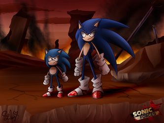 Sonic Forces by SweetSilvy