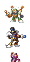 MegaMan 'Sprites'-All the King's Men by WaneBlade