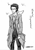 Supernatural : Castiel, angel of the lord by detolefu