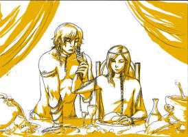 The Banquet by chibilou