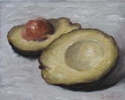 Avocado- Limited Palette by MesolimbicArt