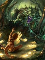Monster attack by CarstenO