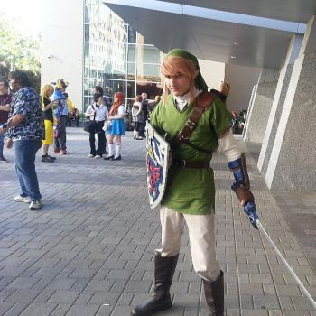 Me as Link by Crowbariswin