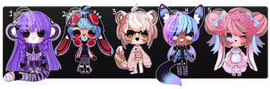 Kemonomimi Auction (closed) by Kariosa-Adopts